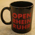 OpenRheinRuhr Flatrate Tasse 2017 schwarz