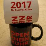 OpenRheinRuhr Flatrate Tasse 2017 Bundle schwarz und weiss